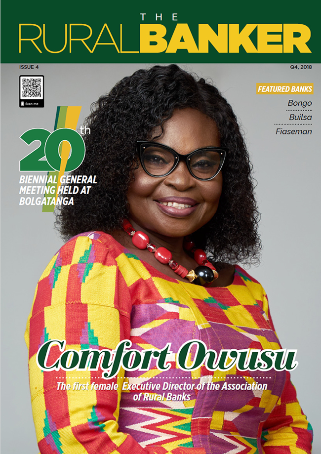 COMFORT OWUSU, The first Female Executive Director of the Association of Rural Banks