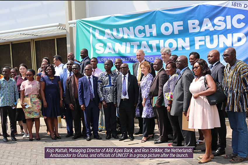 ARB Apex Bank Partners with UNICEF  to Improve Household Sanitation
