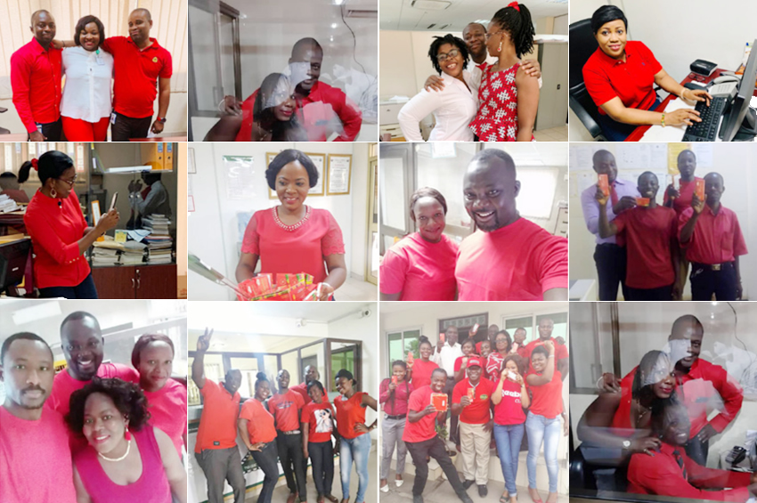 ARB Apex Bank Staff Go Casual on Landmark Days